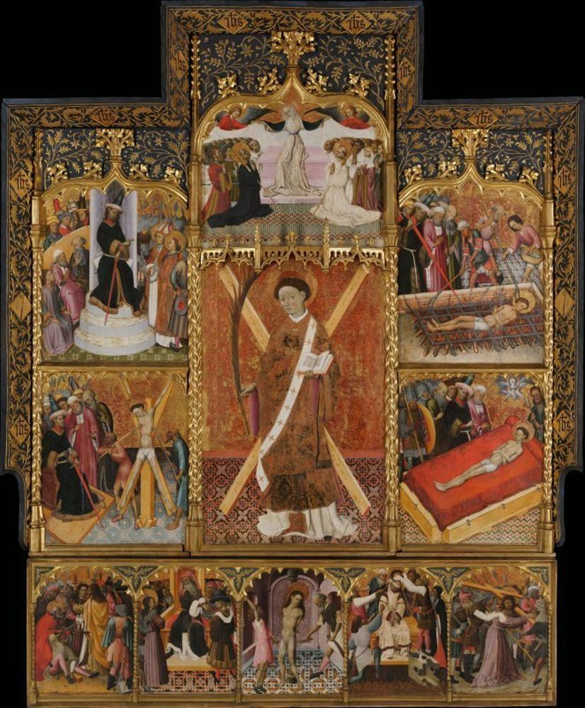 Bernat Martorell - Altarpiece of Saint Vincent.jpg